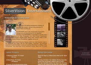 Film Website Design